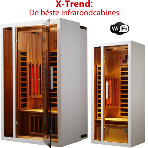 infraroodcabine infrarood sauna x trend belgium. Black Bedroom Furniture Sets. Home Design Ideas
